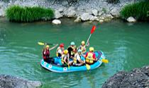 Rafting in Aliakmonas River
